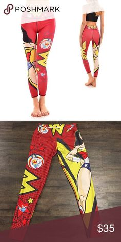 "❤️ ""Wonder Woman"" Shape Waist Leggings ❤️ These leggings are different from everything you've ever worn! hey have a built-in, seamless butt lifter. They will give you the beautiful shape you've been wanting all along without anyone but yourself noticing!  They are a mixture of Colombian Supplex and Lycra - Dry Fit, perfect fit! NWOT!   ✨Happy Poshing!   Suggested User   Top 10% Sharer/Mentor ⭐️⭐️⭐️⭐️⭐️ 5 star Gal  Fast Shipper!  Ships Same/Next Day   Odor Free  Pet Free NO PayPal/NO Trade/NO…"