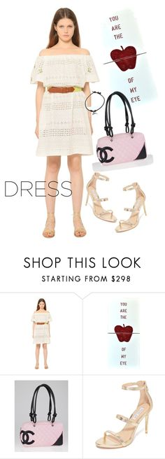 """""""dress"""" by masayuki4499 ❤ liked on Polyvore featuring Blugirl, Home Decorators Collection, Chanel, Rachel Zoe and Pomellato"""
