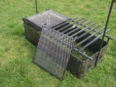 FIRE BOX - You can put this fire box up and take it down in minutes. 