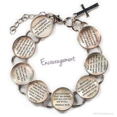 Hey, I found this really awesome Etsy listing at https://www.etsy.com/listing/152588606/encouragement-scriptures-glass-charm