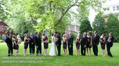 The Cellars at Brookpark Farm Wedding Party Photo by Trina Shreck Photography