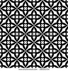 hd black and white geometric patterns - - Yahoo Image Search Results