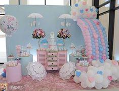 Photos and Videos Idee Baby Shower, Baby Shower Fall, Baby Shower Favors, Baby Shower Parties, Baby Boy Shower, Baby Girl Birthday Theme, Unicorn Birthday Parties, Unicorn Party, Cloud Party