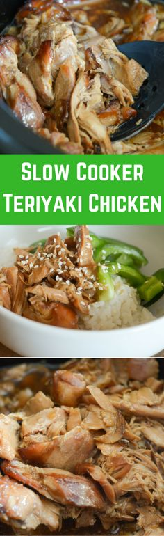 If you need a great go-to recipe then this Crock Pot Teriyaki Chicken is perfect for your family! Also, easy to make in the Ninja Foodi or Slow Cooker! Crock Pot Slow Cooker, Crock Pot Cooking, Slow Cooker Recipes, Crockpot Recipes, Cooking Recipes, Chicken Recipes, Turkey Recipes, Freezer Recipes, Fun Recipes