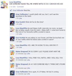 Fairy Tail facebook