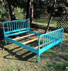 Antique Jenny Lind Full Bed by Antique2Chic on Etsy