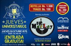 """El Molino presenta: """"Jueves Universitario con Dub Marley"""" http://crestametalica.com/events/el-molino-presenta-jueves-universitario-con-dub-marley/ vía @crestametalica"""