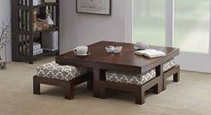 Sophisticated Japanese Dining Table Suggestions - DIY Home Design Home Decor Furniture, Table Furniture, Furniture Design, Luxury Furniture, Centre Table Living Room, Living Room Decor, Center Table, Japanese Dining Table, Japanese Coffee Table