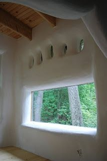beautiful cob house window