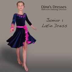 Junior 1 Latin Ballroom Dancing Dress
