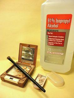 restore broken makeup