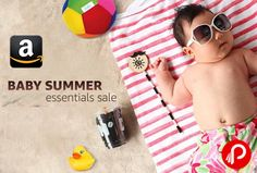 Amazon #Baby #Summer #Essentials #Sale is offering Baby Products on Discount. Activity & Play Time, Baby Care, Baby Clothing, Bedding, Furniture & Room Décor, Diapering & Nappy Changing, Feeding, Potty Training & Step Stools, Strollers, Buggies & Prams.  http://www.paisebachaoindia.com/baby-summer-essentials-sale-baby-products-on-discount-amazon/