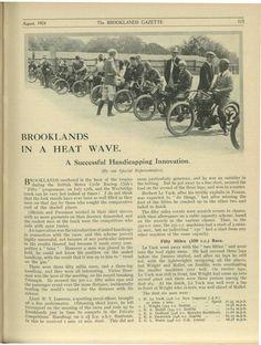 Brooklands in a heatwave (Pt.1)