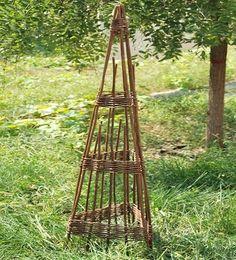 Willow Expandable 3 Sided Obelisk Master Garden Products https://www.amazon.com/dp/B00GGWTS5Y/ref=cm_sw_r_pi_dp_x_cMkRyb4E1YQTY