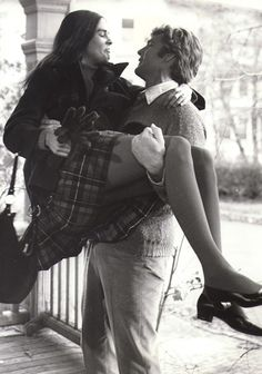 "Ali MacGraw & Ryan O'Neal in ""Love Story"""