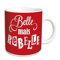 Mug Belle mais Rebelle
