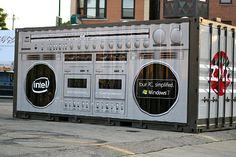 Great for young kids wanting to have access to a recording studio in the neighborhoods