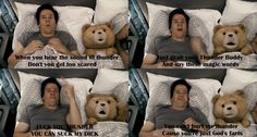 Thunder Buddies for Life! One of the funniest scenes in this movie.