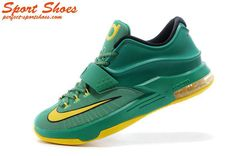 outlet store 11633 3f083 Kevin Durant 7(VII) Online Store Green Dark Men s Basketball Shoes