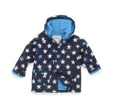 Hatley Blue Stars Raincoat