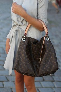 Louis Vuitton Artsy GM Brown Totes by lindabrenco More