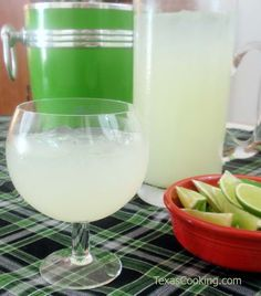 Margaritas by the Pitcher (On the Rocks) Recipe