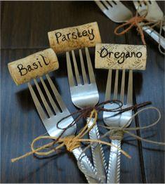 Plantenlabels maken? 8 creatieve en goedkope ideeën! - Do it yourself | Tuininspiratie