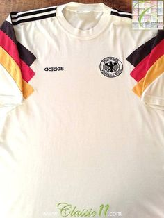 b6fd6a6e5 48 Best Classic Germany Football Shirts images in 2019