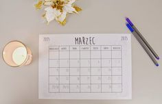 Kartka z kalendarza: marzec 2015 - What a mess!