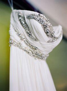 Brooklyn Wedding, Wedding Dress: Marchesa
