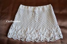 Megzti,nerti sijonai ,šortai - Dalia Ivanova - Álbuns da web do Picasa Crochet Skirt Pattern, Crochet Skirts, Knit Skirt, Crochet Clothes, Knit Dress, Crochet Patterns, Unique Crochet, Beautiful Crochet, Crochet Bikini