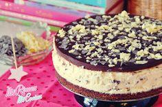 Mi Rincón, Mi Cocina - Repostería Creativa y Tradicional, Salados - Recetas de cocina: Tarta mousse de Straciatella (sin horno) | Straciatella mousse cake (no bake)
