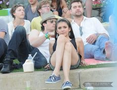 nian ian somerhalder and nina dobrev