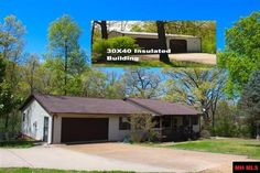 Enjoy life every day living in this spacious 3 BR 2 BA home with granite tops in kitchen, laminate floor, split floor plan, fenced back yard and a 30 X 40 insulated building shop w/elec. Just 1.2 miles from Bull Shoals lake at Howard Creek Access in Midway AR