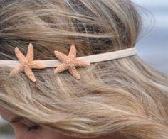 Beachy hair decor