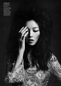 Fei Fei Sun by Hedi Slimane for Vogue China