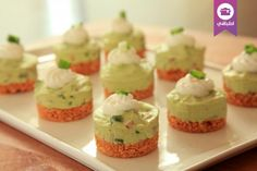 تشيزكيك الغواكامولي Guacamole cheesecake recipe