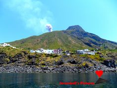 The village of #Ginostra,  island of #Stromboli.