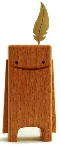 Beechblock from Pepe Hiller. Each one handmade from Swiss beech wood.