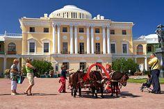 Grand Palais vu de la Cour - Pavlovsk