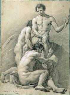 male form in drawings fine art - Google Search