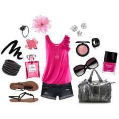 PINK Summer fun!, created by Miranda Syzdek