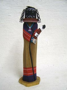 Native American Hopi Carved Mastop Fertility Katsina Sculpture at Kachina House
