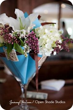 47 best martini glass centerpieces images martini glass rh pinterest com