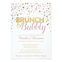 121 Best Wedding Brunch Bubbly Bridal Shower Invitations Images