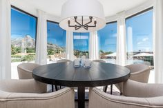 Modern Villa for sale in Golf Valley, Nueva Andalucia Andalucia, Villa, Dining Table, Modern, Golf, Furniture, Home Decor, Trendy Tree, Decoration Home