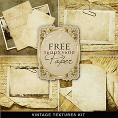 I <3 anything vintage!  (Free downloads for vintage style graphics, paper, stickers, etc.)
