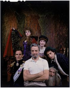 Into the Woods.  Some of the original cast with Mr. Stephen Sondheim