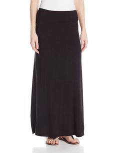 Kensie Women's Lightweight Jersey Maxi Skirt -- Click image for more details.