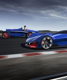 hybrid racing concept by peugeot pays tribute to victories at indy speedway